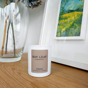 Bay and Bergamot Candle from Somas