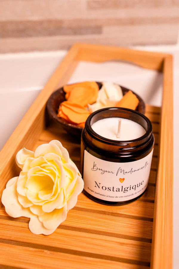 Nostalgique Scented Candle from Bonjour Mademoiselle