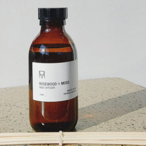 Image of Rosewood and Moss Scented Reed Diffuser