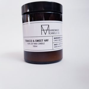 Image of Tobacco and Sweet Hay Scented Candle