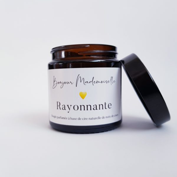 Image of Rayonnant candle lid off