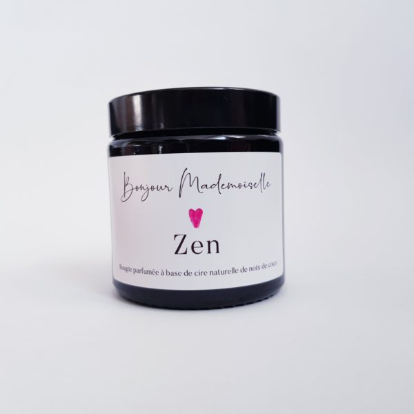 Image of Zen candle lid off