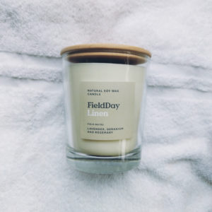 Image of Linen Scented Candle from Field Day