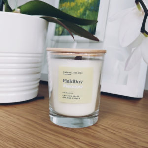 Meadow Scented Candle from Field Day