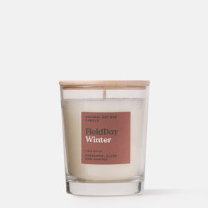 Winter Scented Candle from Field Day