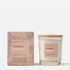 Rose Scented Candle from Field Day
