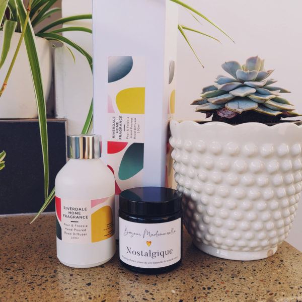 Image of Fresh and Fruity Candle and Diffuser Bundle